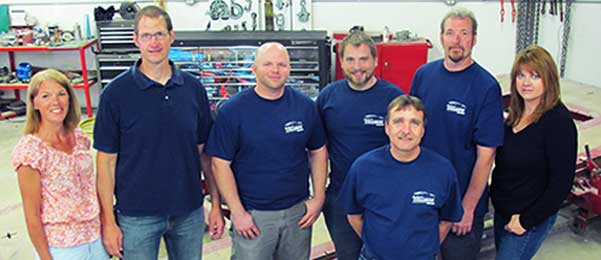 Auto Body Technicians at Earhart's Collision & Automotive Service